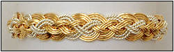 Ocean Art Jewelry Nautical Bracelets Handwoven Gold And